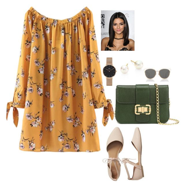 """""""Bez naslova #253"""" by chris-383 ❤ liked on Polyvore featuring Gap, Monique Lhuillier, Daniel Wellington, Majorica and Christian Dior"""