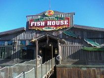 Catch Lunch Or Dinner At White River Fish House Which Sits On The Branson Landing And Offers Great Views Of Lake Tan Fish House Branson Vacation River Fishing
