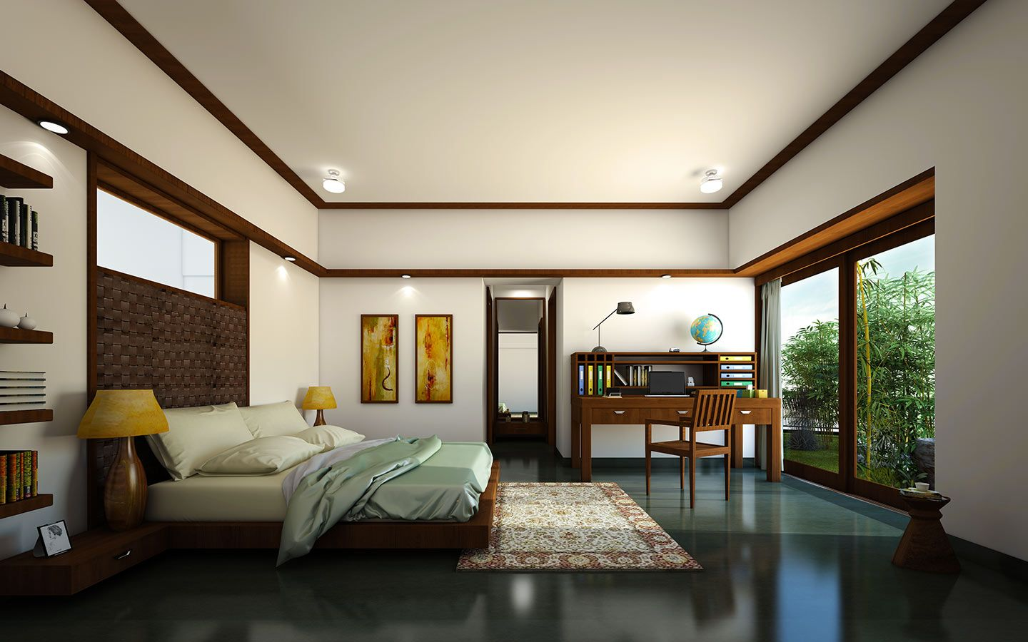 Total Environment Residential Project In South Bangalore At Jp Nagar Has Furnished Customisable Three And Four Bed Room Apartments