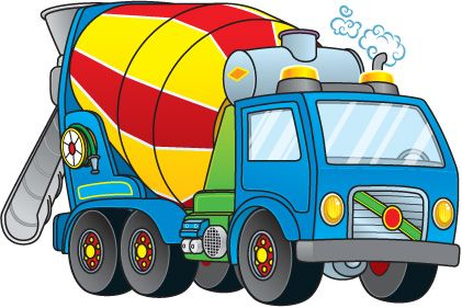 Cement Truck Jpg 421 281 With Images Cement Truck Cartoon Clip Art Clip Art