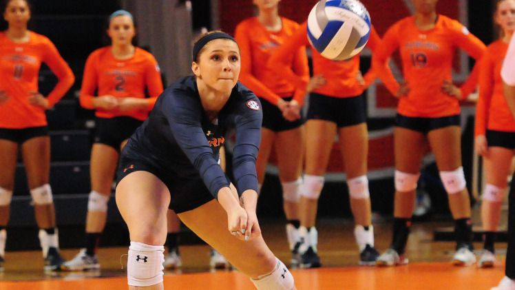 Volleyball Position Preview Defensive Specialists Auburn University Athletics Volleyball Positions Volleyball News Volleyball