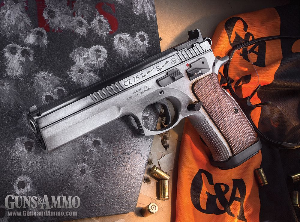 Re-engineered from the original CZ 75, the CZ 75 Tactical