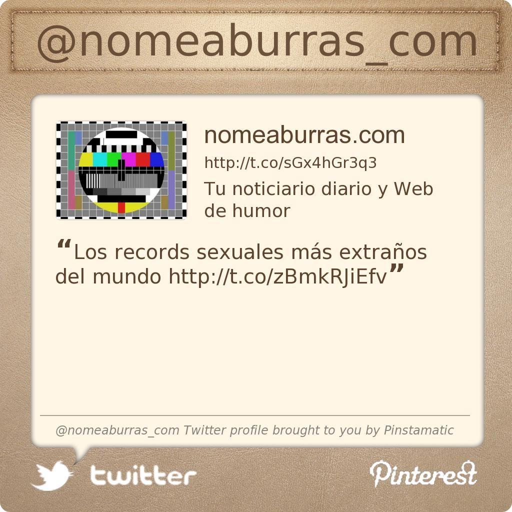 @nomeaburras_com's Twitter profile