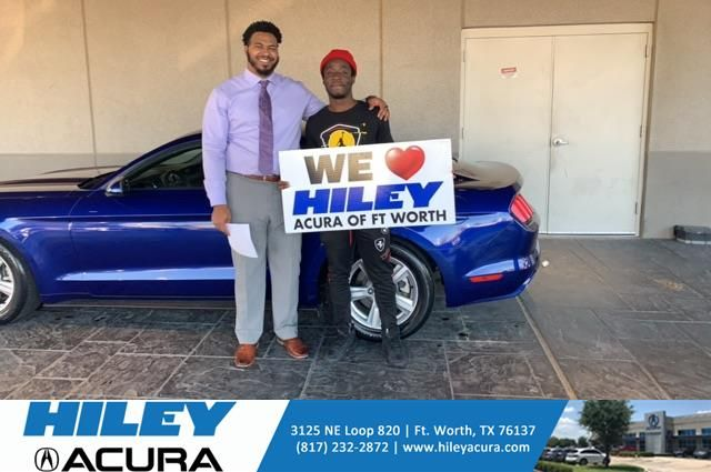Congratulations Chris on your from Ruben Washington at Hiley Acura!