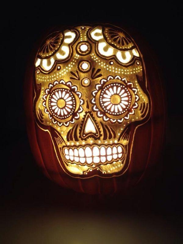 600 800 pixels for Skull pumpkin carving ideas