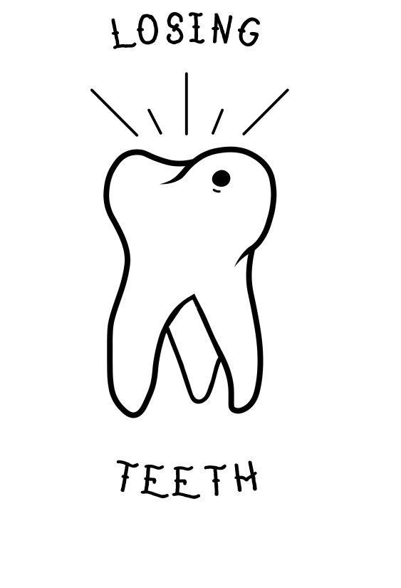 4f0a329672fba Neck Deep - Losing Teeth   Flash Tattoo Prints   Deep tattoo, Tooth ...