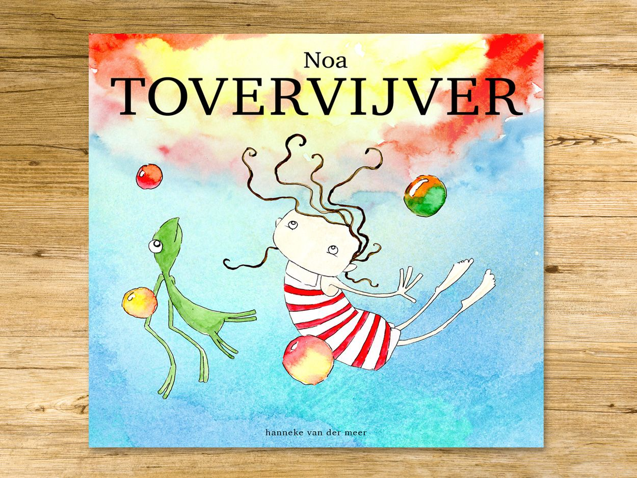 Make this dream come true! Support our Dutch kickstarterproject, so children will be able to meet Noa* on paper!   https://www.kickstarter.com/projects/206560906/prentenboek-noa-tovervijver-storybook-noa-magicpon  *Noa can be found in the App Store (Noa's Stars, Noa & Ladybird)