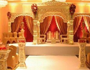 A Royal Mandap For A Royal Themed Wedding Wedding Mandap