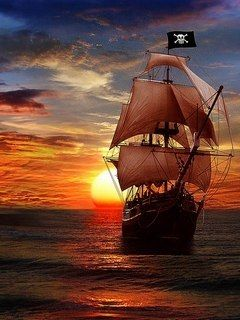 Download Free Pirate Ship Mobile Wallpaper Contributed By