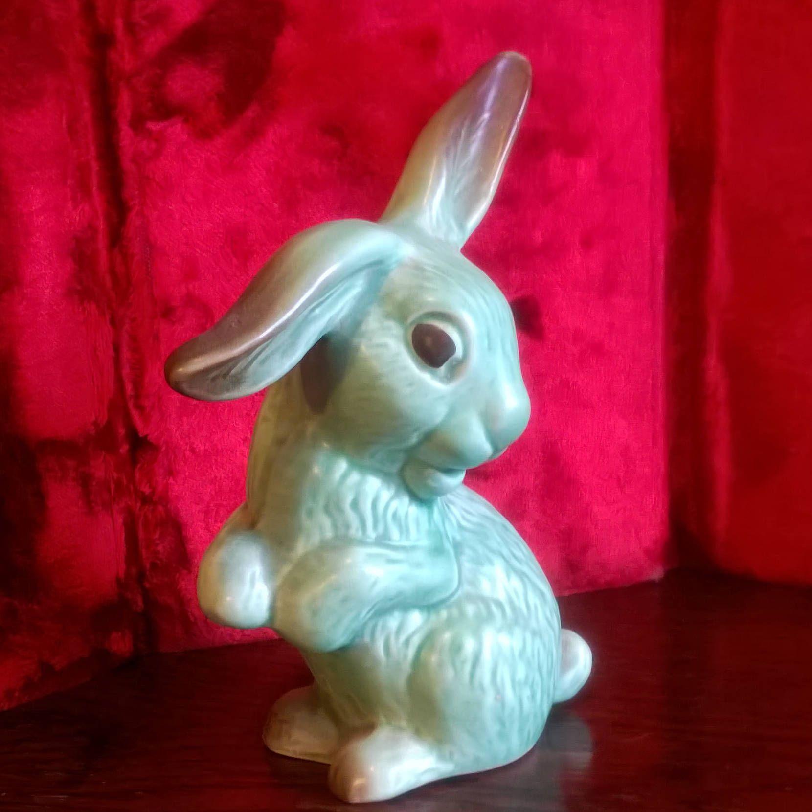 Sylvac Rabbit Kitsch Rabbit Lop Eared Rabbit 1302
