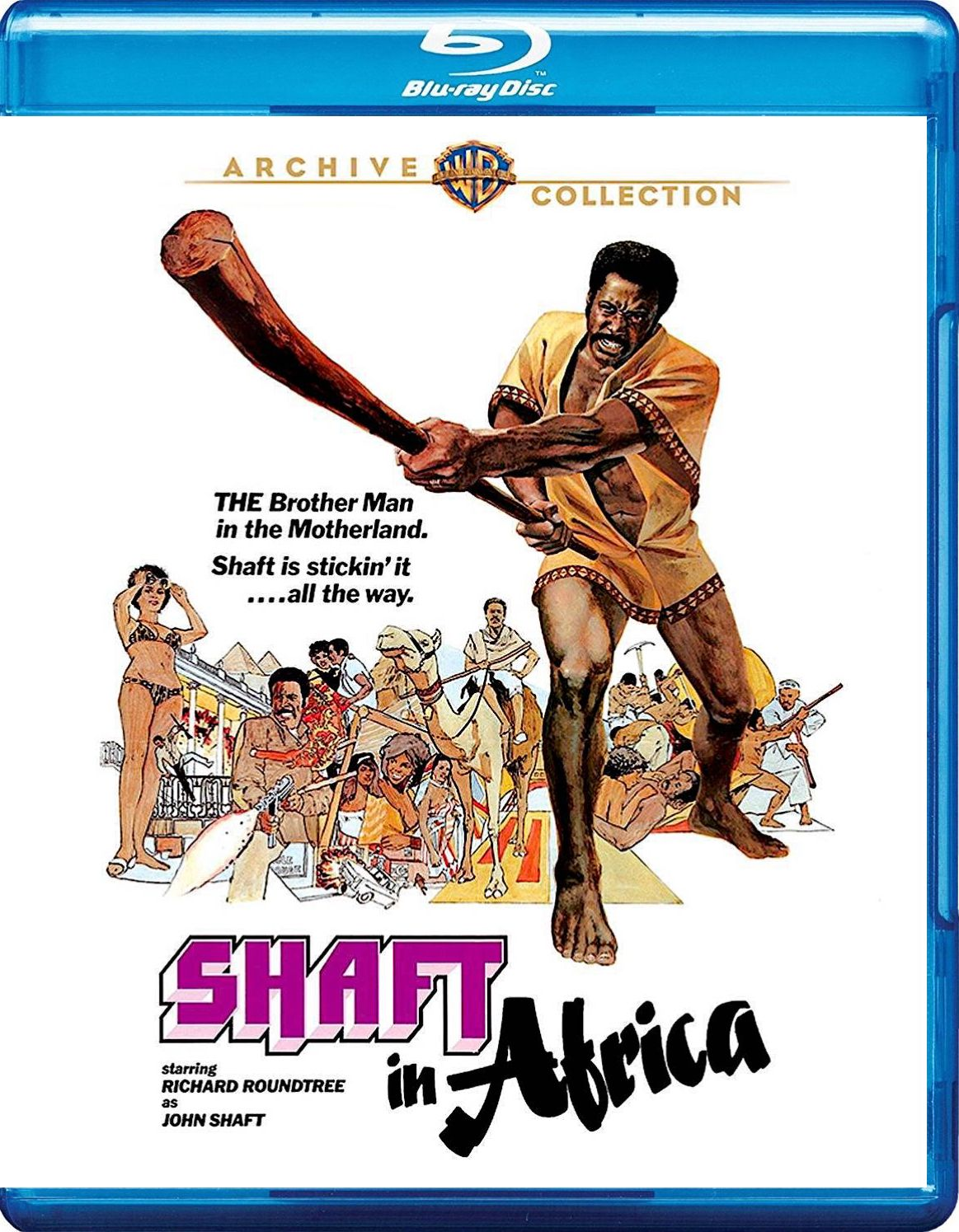 SHAFT IN AFRICA BLU-RAY (WARNER ARCHIVE COLLECTION) | WARNER ARCHIVE