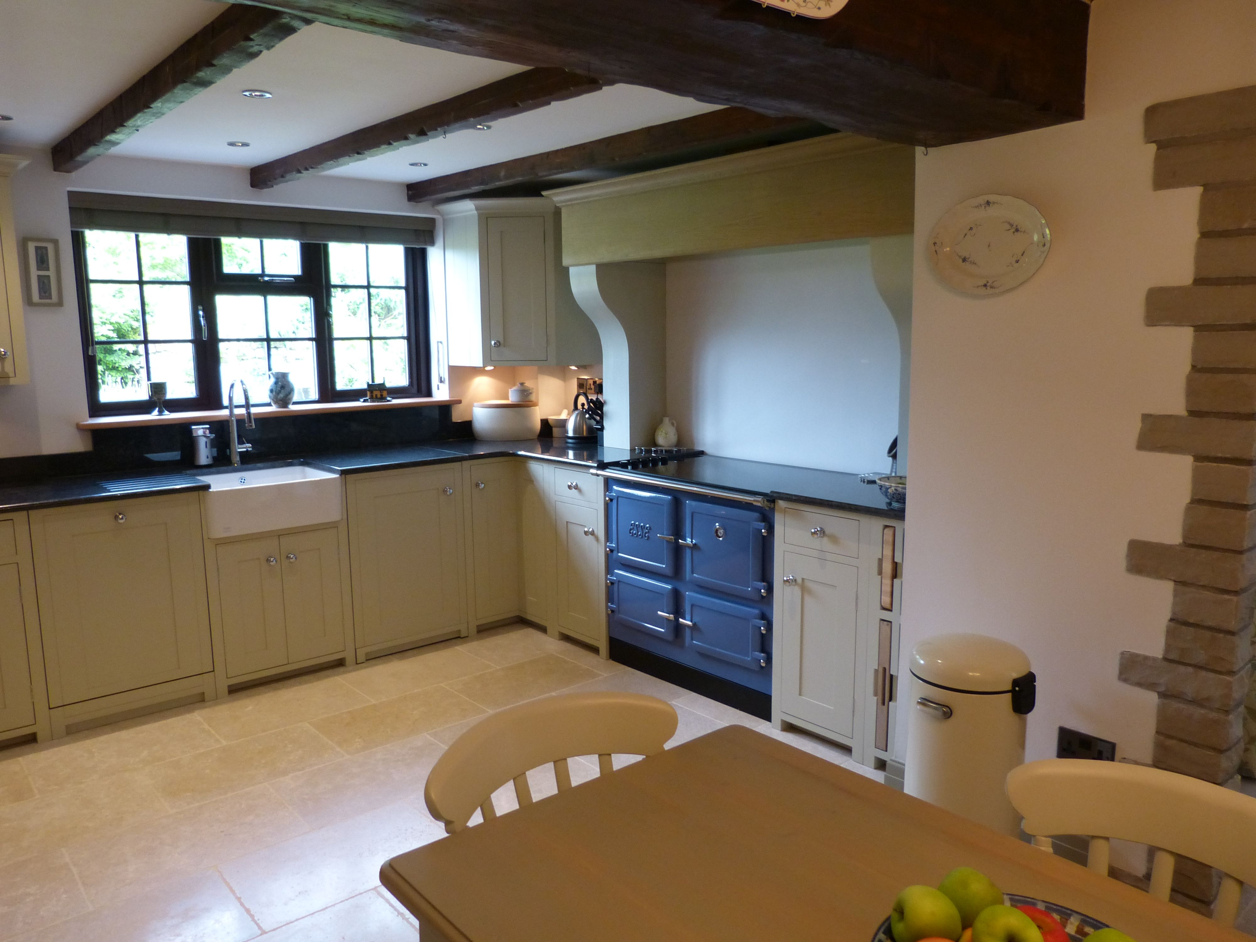 Neptune Suffolk Kitchen with Esse EC4i Electric Cooker in ...