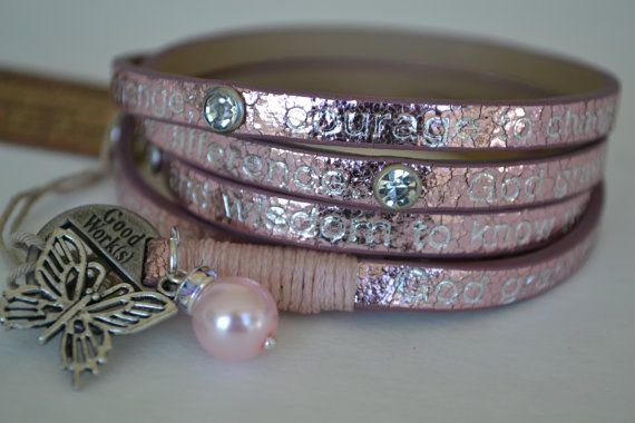 Goodworks Humanity for All Pink Metallic Serenity by LifeThoughts, $23.50