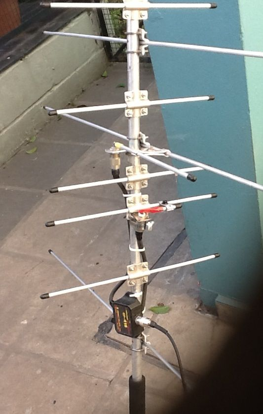 Home Made Satellite Antenna Ham Radio Ham Radio Antenna Satellite Antenna