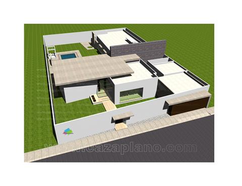 Casas De Una Planta Planos Usb Flash Drive Flash Drive House