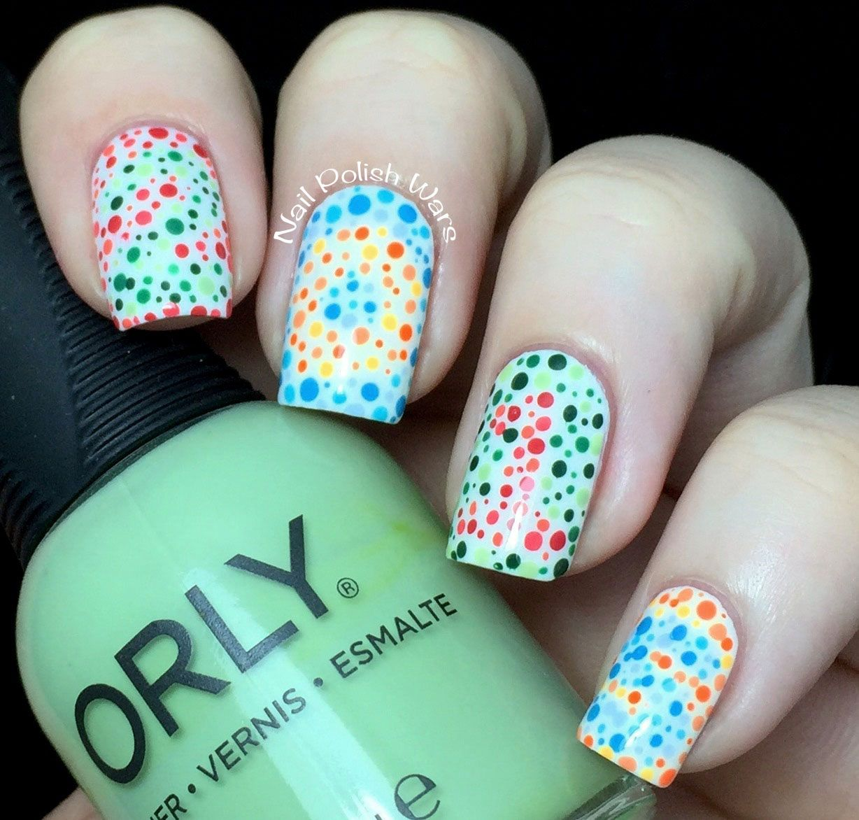 Color Blind Nails | Hair & Beauty that I love | Pinterest | Uña ...