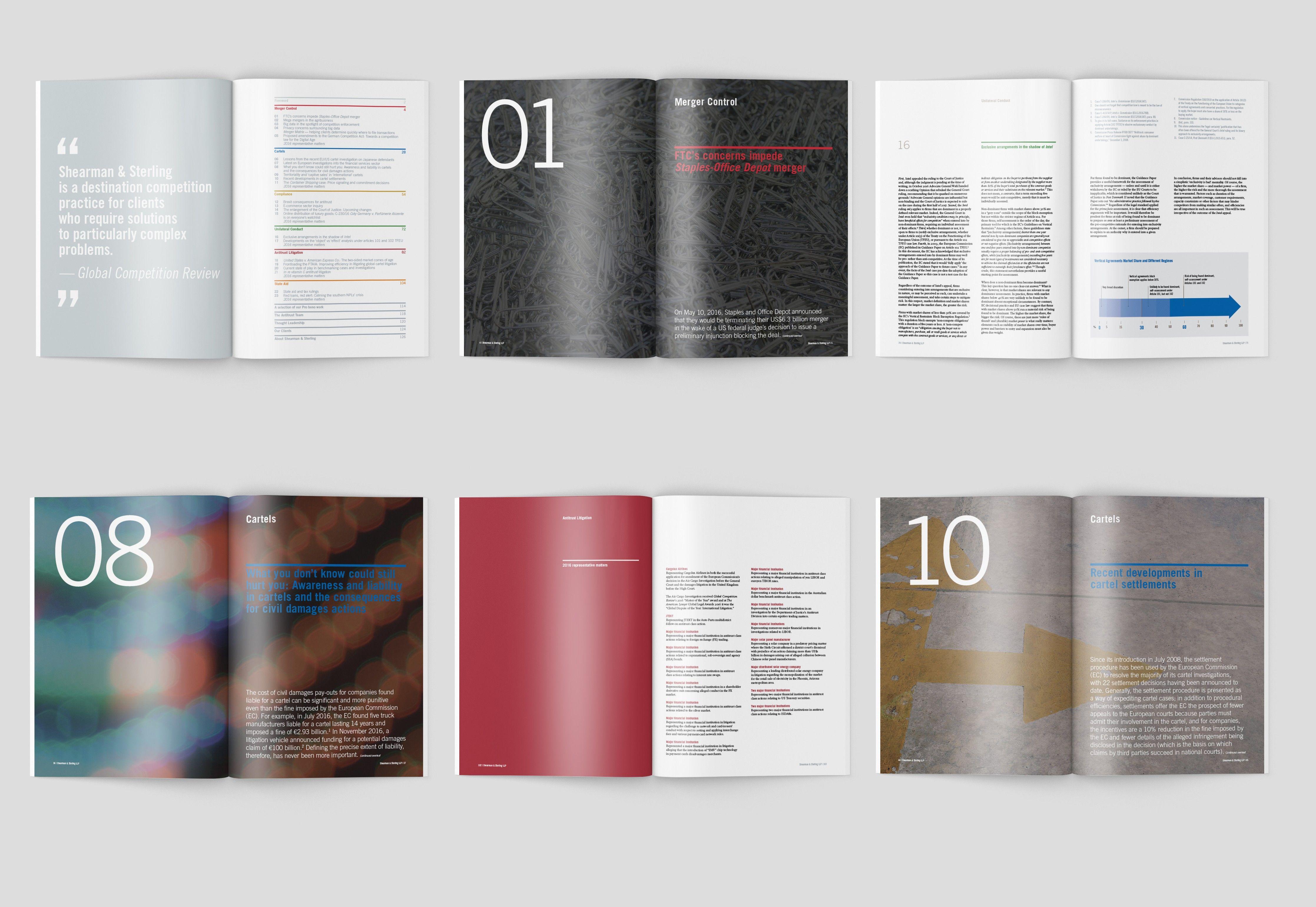 Law Firm Brochure Design  Annual Report Design  Knox Design