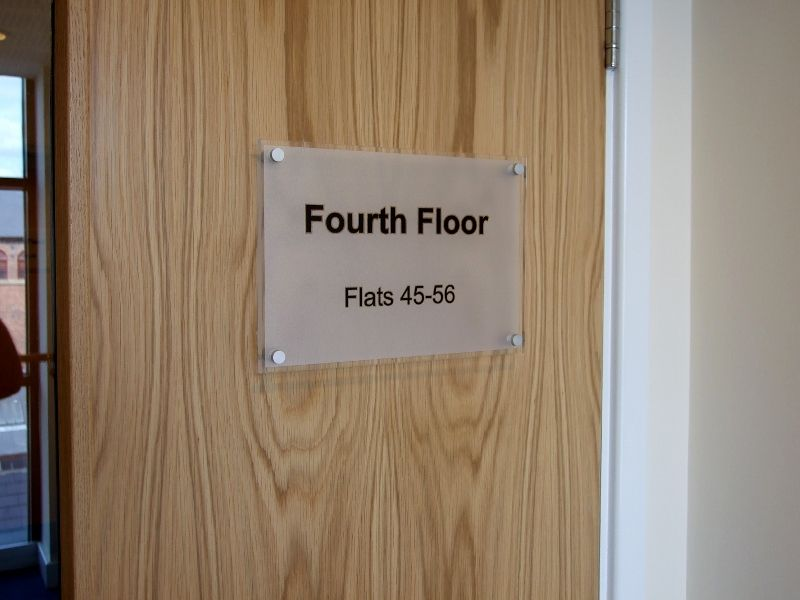office door wall signs floor level door signage office door
