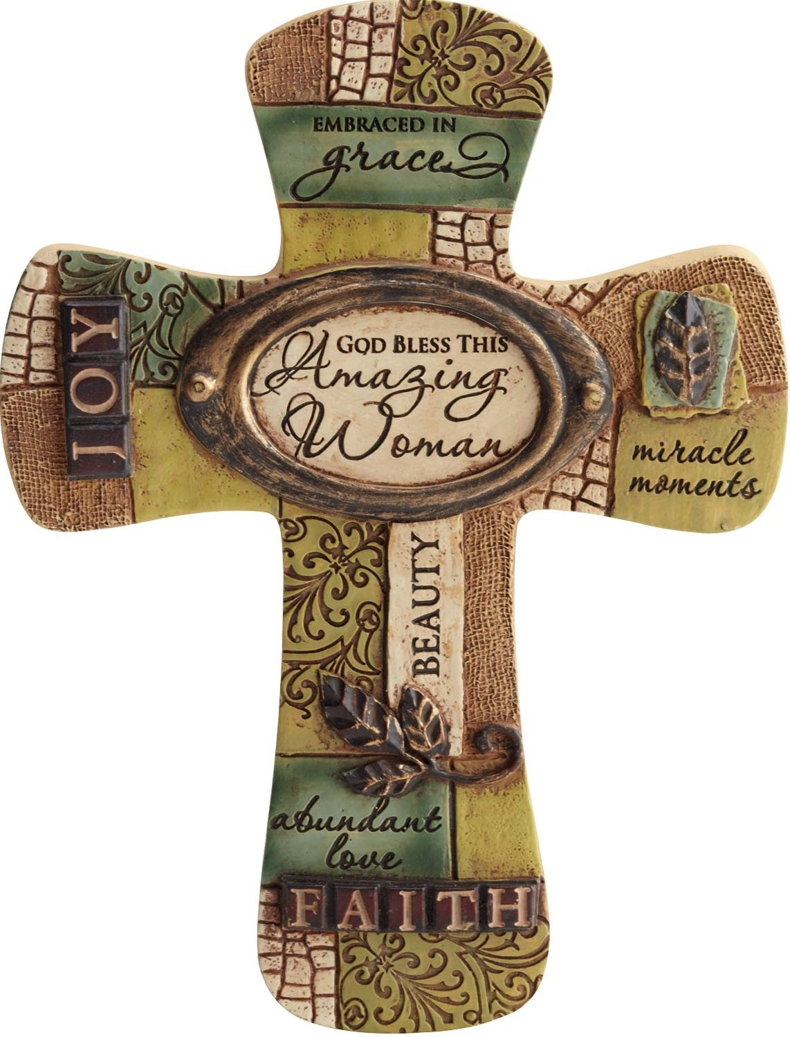 Besides cross clip art wall decor decorative wood cross decorative - This Cross Is Colored In Earthy Tones With A Center Plaque That Reads Decorative Crosseswall