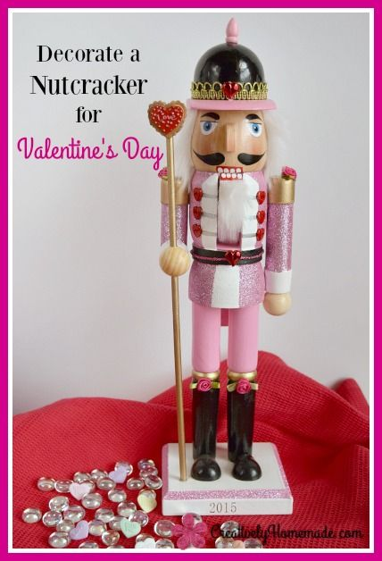 Easy Valentines Day Nutcracker Christmas clearance, Craft and - christmas clearance decor