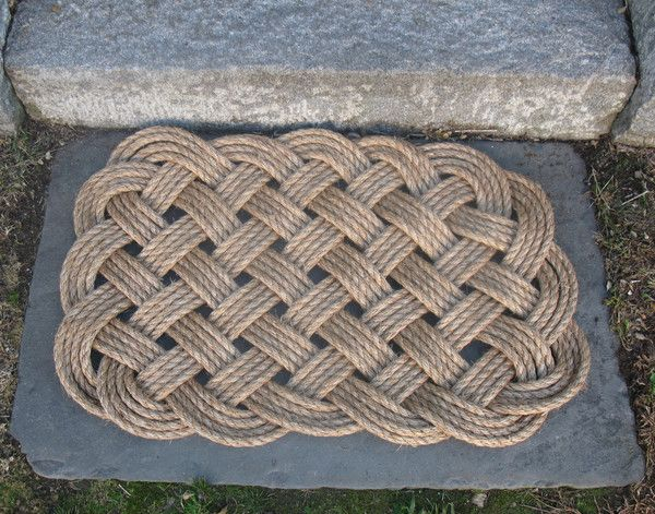 Best Woven Nautical Entry Rug Square Door Mat Entry Rug 400 x 300