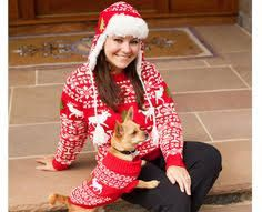 Image Result For Matching Dog And Human Sweaters Holiday X Mas