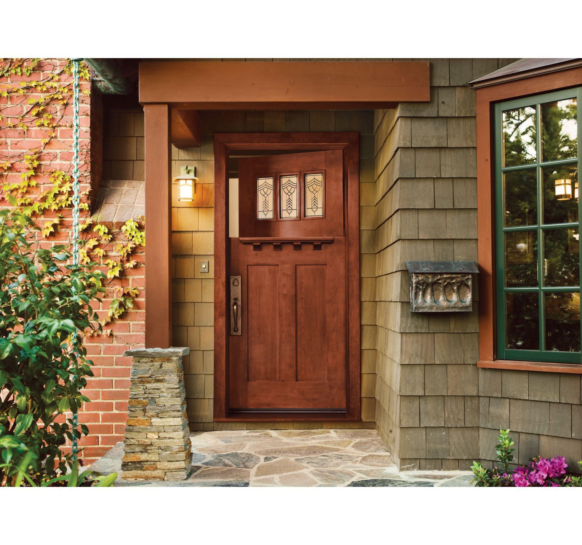 Custom Wood Jeld Wen Doors Windows Craftsman Door Craftsman