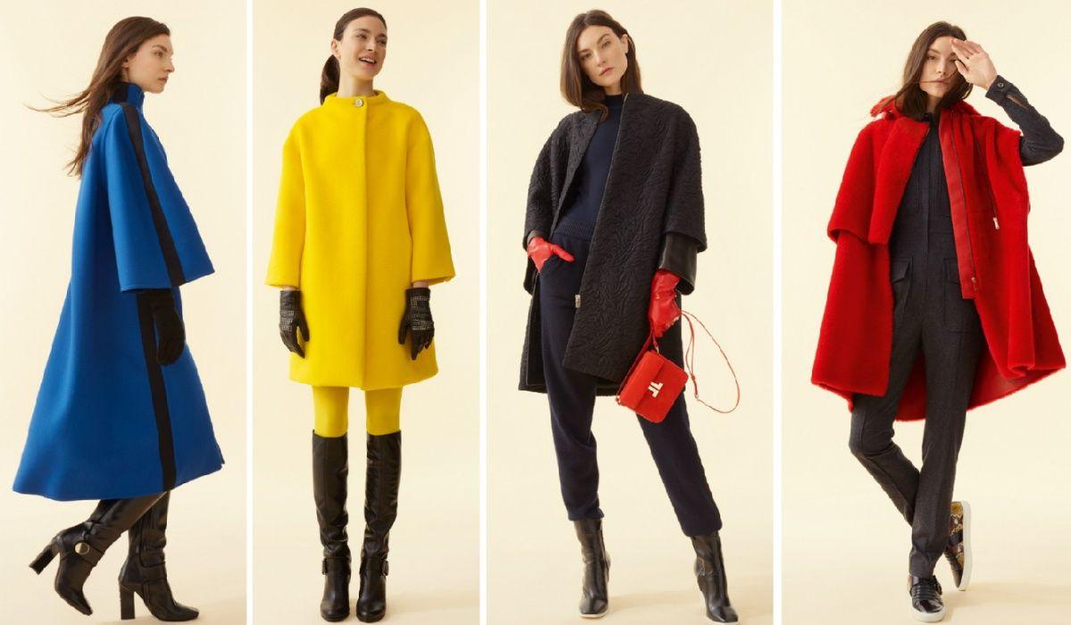 fafce5d145c желтое и красное плюшевое пальто осень-зима 2018-2019