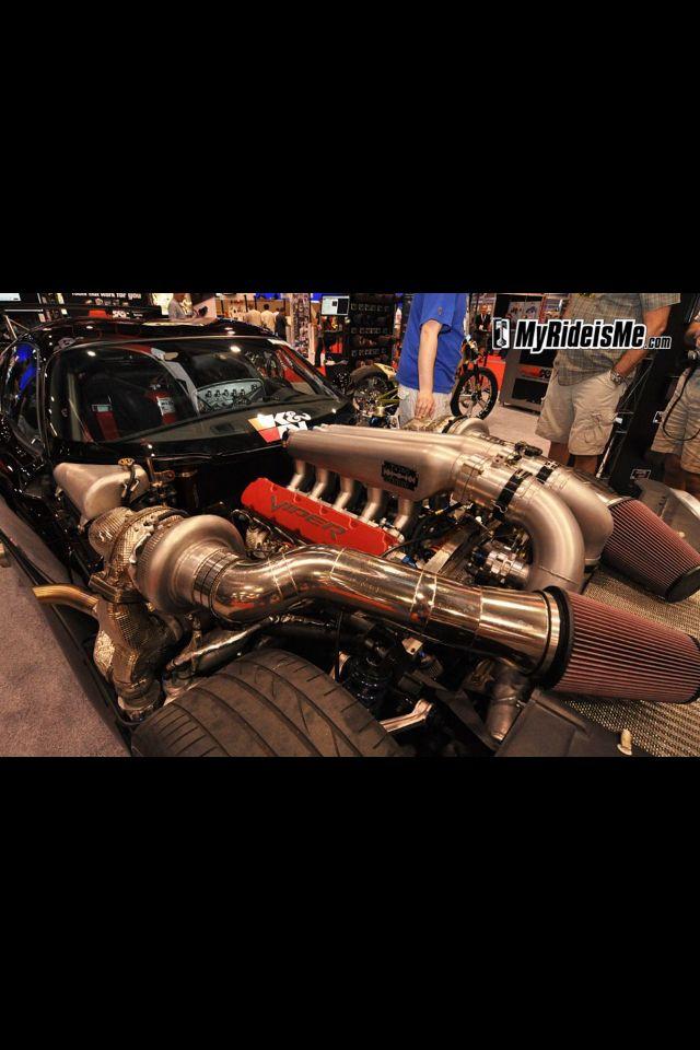 Twin turbo Viper | Board 1 | Twin turbo, Monster trucks