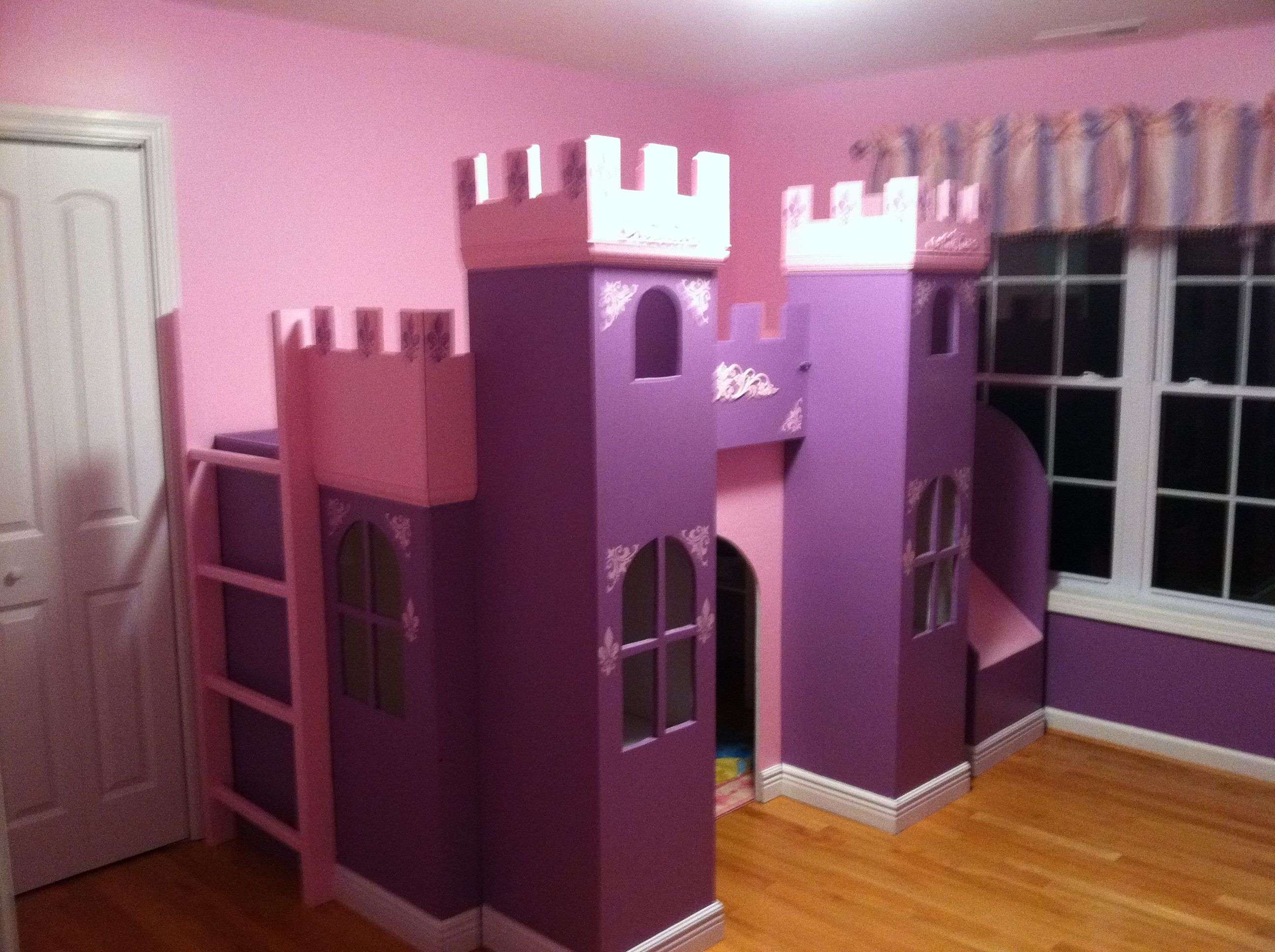 Princess Castle Ana White Little girl beds, Princess