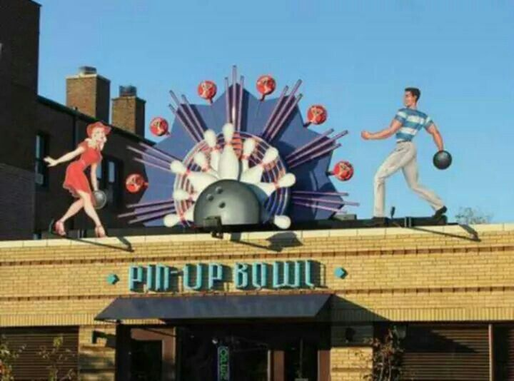 Bowling Alley In Delmar Loop Delmar Loop St Louis Louis