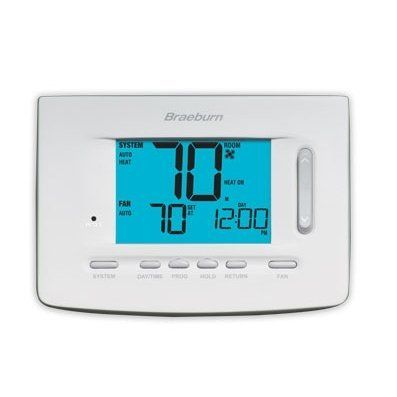 Braeburn Model 5020 1 Heat 1 Cool Programmable Thermostat By Braeburn 82 95 Braeburn Model 5020 1 Heat 1 Cool Programmable Thermostat The Univer Premiers Sons