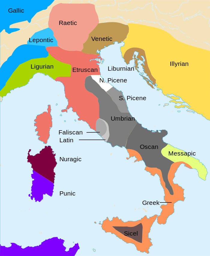 Ancient Peoples Of Italy Interesting Maps Of Italy Pinterest