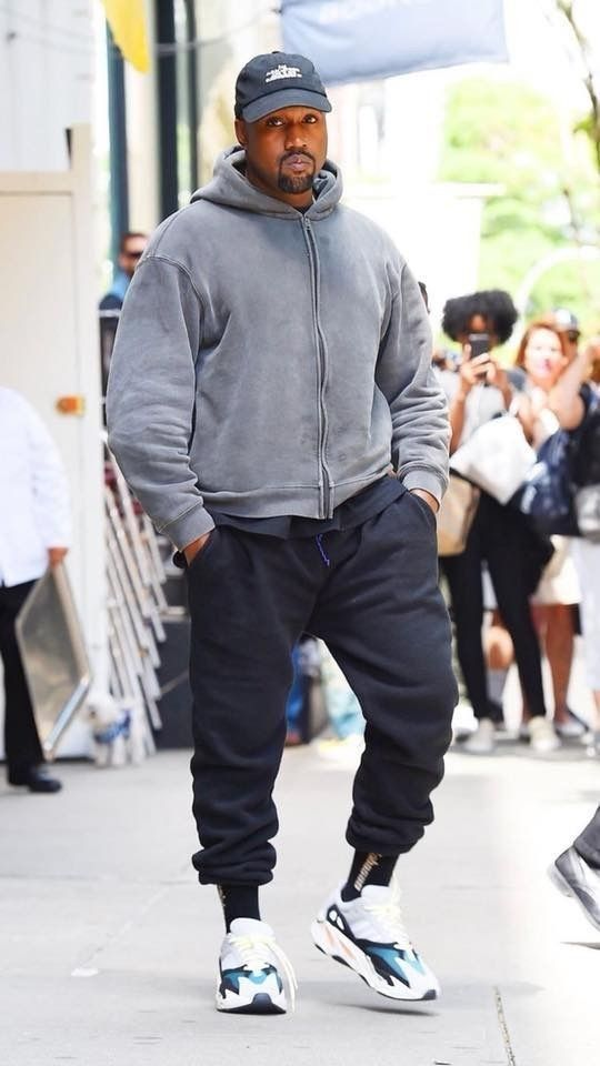 outfits con yeezy 700