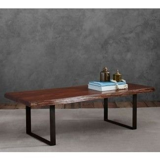 Waller Live Edge Coffee Table Pottery Barn