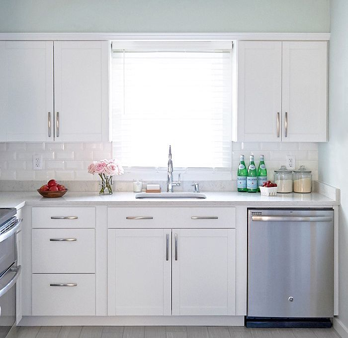 Because I'm A Crazy Person I Recently Signed On To Design And Enchanting Lowes White Kitchen Cabinets 2018
