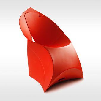 Flux vouwstoel door Douwe Jacobs