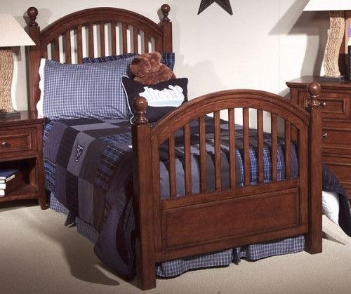 American Spirit Twin Low Poster Bed by Legacy Classic Kids ...