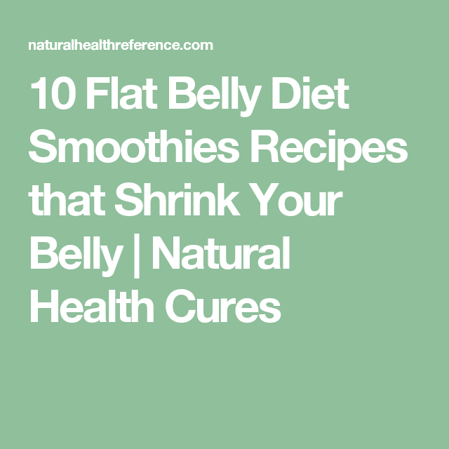 recipe: 10 flat belly diet smoothies recipes [30]