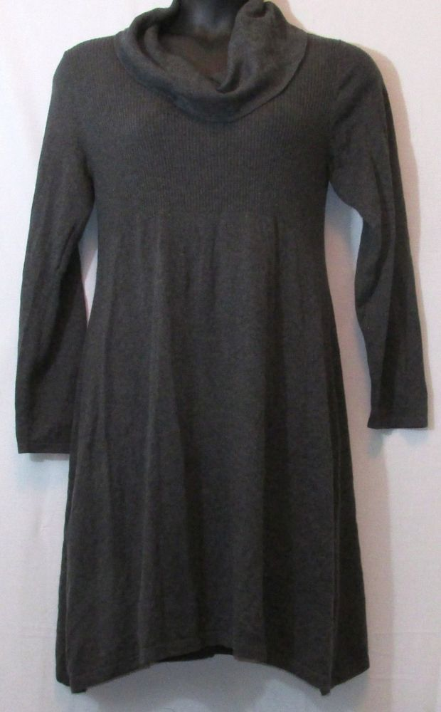 2eb23365c3f Style   Co - NWT Plus Size Charcoal Gray Cowl Neck Sweater Dress ...