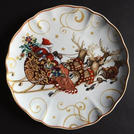 Williams Sonoma Christmas Plates.Pin On Christmas Mania