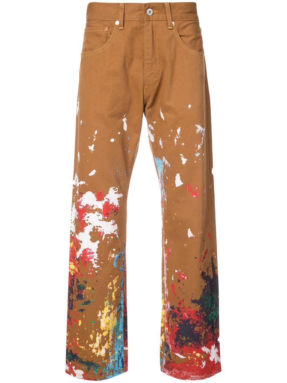 b8cf9c11 JUNYA WATANABE Junya Watanabe Man x Carhartt paint splatter trousers.  #junyawatanabe #cloth #
