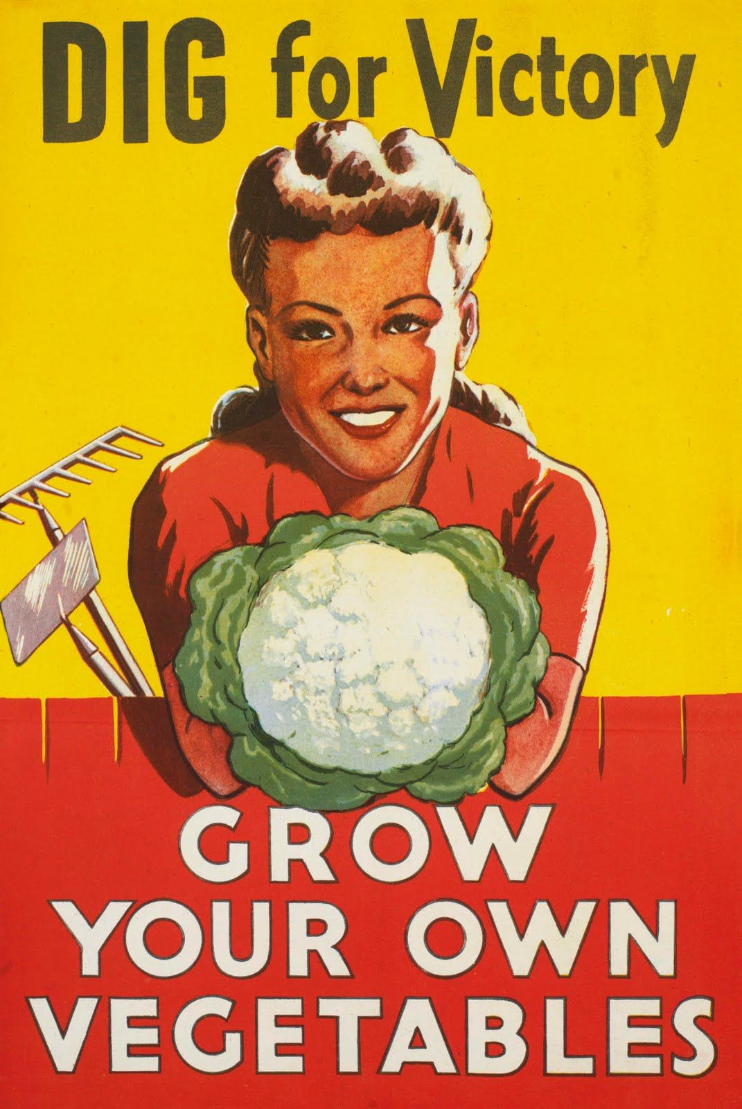How to Dig for Victory Gardens