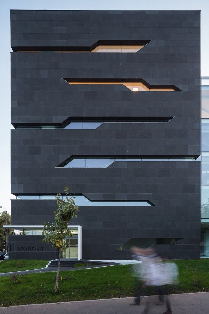Monolit Office Building Igloo Architecture architecture