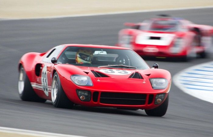 GT40 at speed