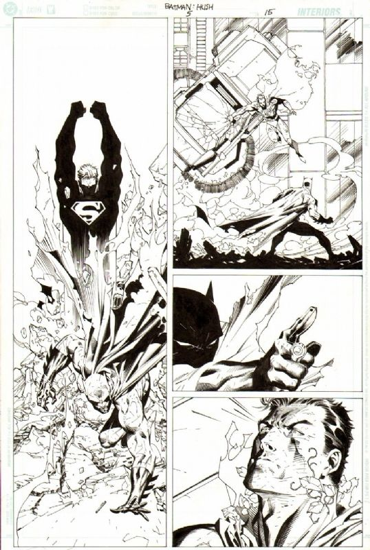 Batman #612 pg15 | Jim Lee