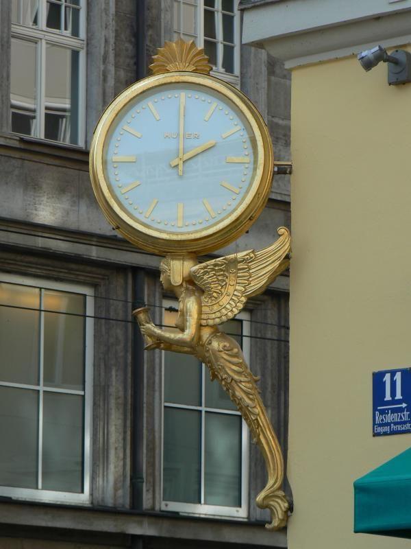 Uhren Huber Munchen Big Clocks World Clock Clock Tower