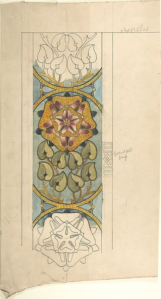 Search Design For Ecclesiastical Embroidery At The Metmusuem