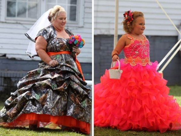 Honey Boo Boo S Mama June Sports Camouflage Wedding Gown Photo Camouflage Wedding Camo Wedding Dress Camo Wedding