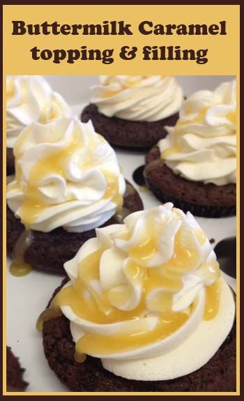 Buttermilk Drizzle Filling Little Delights Frosting Recipes Cupcake Recipes Sweet Sauce